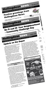 Back issues of newsletter