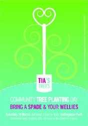 Tias Trees (tree planting) flyer