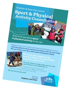 Sport and activity consultation poster